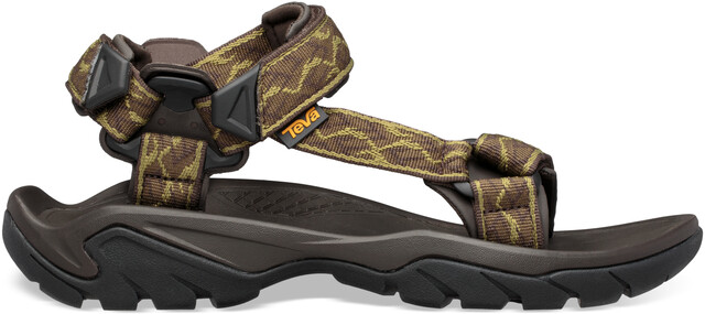 Universal Sandals Men wavy trail olive